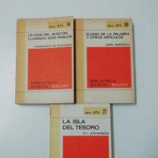 Libros: LOTE RTV (7).BIBLIOTECA BÁSICA SALVAT. Lote 205611692
