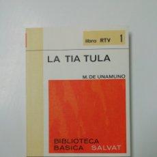 Libros: RTV N 1... LA TÍA TULA.. Lote 205611756