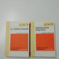 Libros: LOTE RTV (8).BIBLIOTECA BÁSICA SALVAT. Lote 205611767