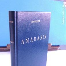 Libros: ANÁBASIS.- JENOFONTE (BIBLI. CLÁSICA GREDOS Nº 52). Lote 205713023