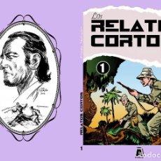 Libros: LOS ARCHIVOS DE EL BOLETIN: LOS RELATOS CORTOS DE ANGEL PARDO NUMERO 01. Lote 205794427