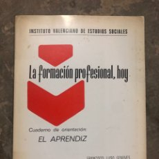 Libros: LA FORMACIÓN PROFESIONAL HOY. Lote 206307927