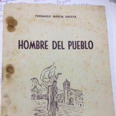 Libros: MURCIA CIEZA HOMBRE DEL PUEBLO DE FERNANDO MARTÍN INIESTA AÑO 1950, 40 PÁGINAS.. Lote 206384143