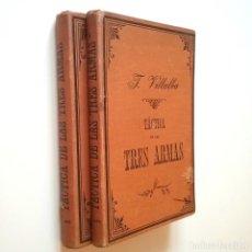 Libros: TÁCTICA DE LAS TRES ARMAS. PRIMERA PARTE. TÁCTICAS PARTICULARES. SEGUNDA PARTE. TÁCTICA GENERAL (5ª. Lote 206511266
