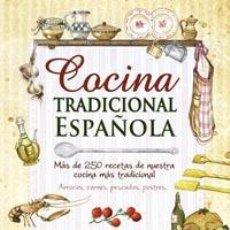 Libros: COCINA TRADICIONAL ESPAÑOLA. - TODOLIBRO, EQUIPO.. Lote 206512603