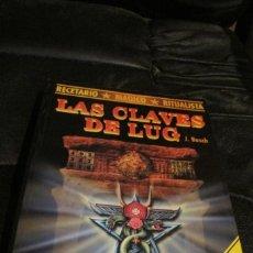Libros: LAS CLAVES DE LUG. RECETARIO MAGICO RITUALISTA. APRENDA A SER SU PROPIO BRUJO. J. BOSCH. Lote 206513398