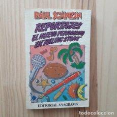 """Libros: REPORTAJES. EL NUEVO PERIODIMO EN """"ROLLING STONE"""" - PAUL SCANLON. Lote 206513668"""