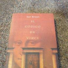 Libros: LIBRO EL CÓDIGO DAVINCI. Lote 206543893