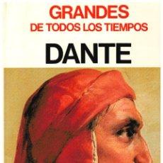 Libros: DANTE (COL. GRANDES DE TODOS LOS TIEMPOS) - MARIA LUISA RIZZATTI. Lote 206600406