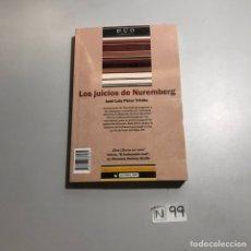 Libros: LOS JUICIOS DE NEREMBERG. Lote 206869396