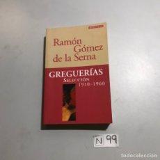 Libros: GREGUERIAS. Lote 206880212