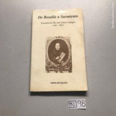 Libros: DE ROSALÍA A SARMIENTO. Lote 206881232