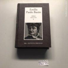 Libros: EMÍLIA PRADO BAZÁN. Lote 206881340