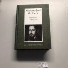 Libros: MARIANO JOSÉ DE LARRA. Lote 206881510