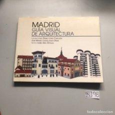 Libros: MADRID GUÍA VISUAL DE ARQUITECTURA. Lote 206911920