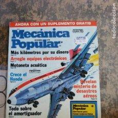 Libros: MECANICA POPULAR. MOTONETA ACUATICA. NOVIEMBRE 1979.. Lote 206962471