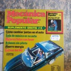 Libros: MECANICA POPULAR. COMO CAMBIAR JUNTAS EN EL AUTO. FEBRERO 1980.. Lote 206962552