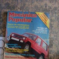 Libros: MECANICA POPULAR. CONSTRUYA SU CAMIONETA. OCTUBRE 1983.. Lote 206962828