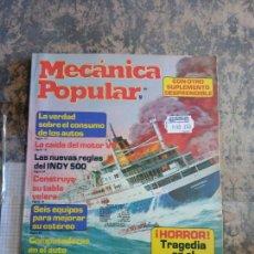 Libros: MECANICA POPULAR. LA VERDAD SOBRE EL CONSUMO DE LOS AUTOS. AGOSTO 1981.. Lote 206963268
