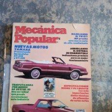 Libros: MECANICA POPULAR. NUEVAS MOTOS YAMAHA PRESENTANDO LOS MODELOS XT-550 Y XT-200. FEBRERO 1983.. Lote 206963370