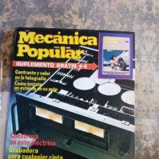 Libros: MECANICA POPULAR. CONTRASTE Y COLOR EN LA FOTOGRAFÍA. ENERO 1980.. Lote 206963432