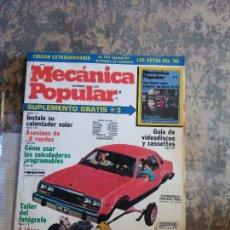 Libros: MECANICA POPULAR. INSTALE SU CALENTADOR SOLAR. DICIEMBRE 1979.. Lote 206963463
