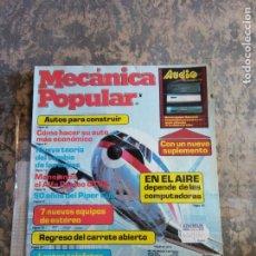Libros: MECANICA POPULAR. COMO HACER SU AUTO MAS ECONOMICO. MARZO 1982.. Lote 206963565