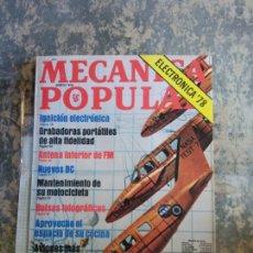 Libros: MECANICA POPULAR. IGNICION ELECTRONICA. AGOSTO 1978.. Lote 206963633