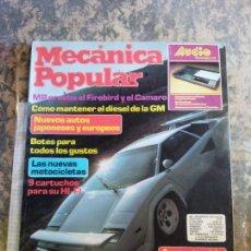 Libros: MECANICA POPULAR. ECONOMIA COMO MANTENER EL DIESEL DE LA GM. MAYO 1982.. Lote 206964093
