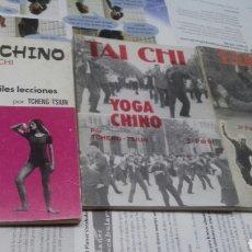 Libros: TAI CHI. YOGA CHINO. 3 VOL.. Lote 207156107