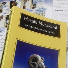 Libros: LA CAZA DEL CARNERO SALVAJE. HARUKI MURAKAMI. Lote 207156738