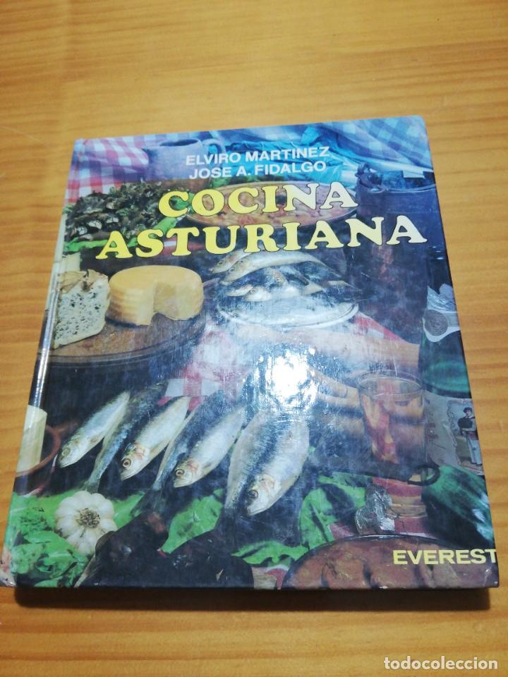 ESPECIAL Y EXCLUSIVO LIBRO RECETARIO DE COCINA ASTURIANA (Libros sin clasificar)