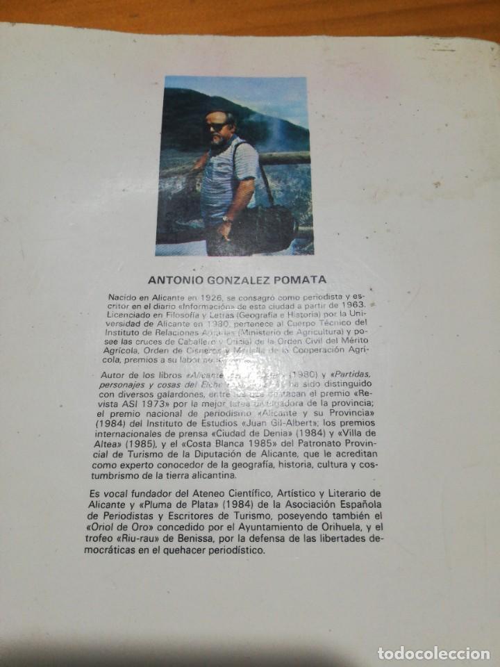 Libros: Libro Alicante rutas de arte historia leyenda y tradición - Foto 3 - 207445475