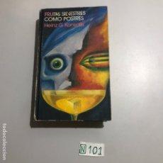 Libros: FRUTAS SILVESTRES COMO POSTRES. Lote 207561196
