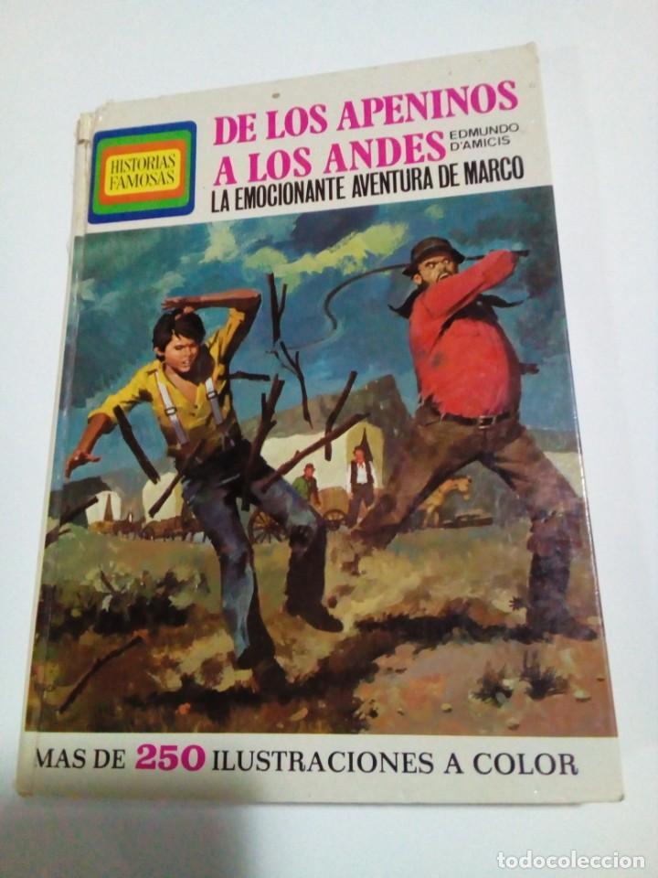 DE LOS APENINOS A LOS ANDES (Libros Nuevos - Literatura - Narrativa - Aventuras)