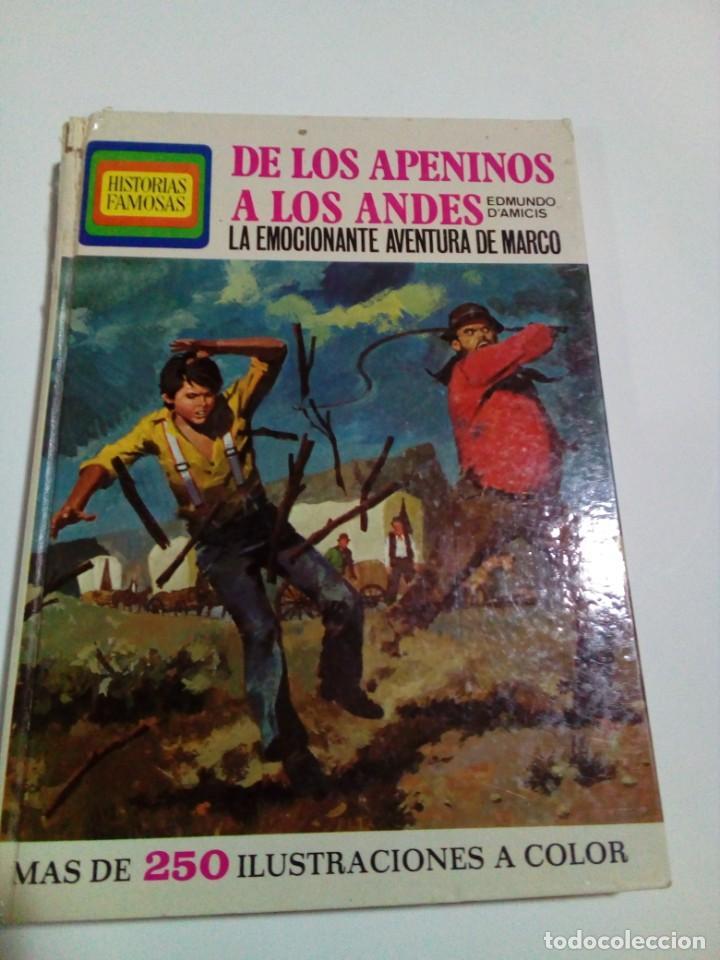 Libros: DE LOS APENINOS A LOS ANDES - Foto 2 - 207786080