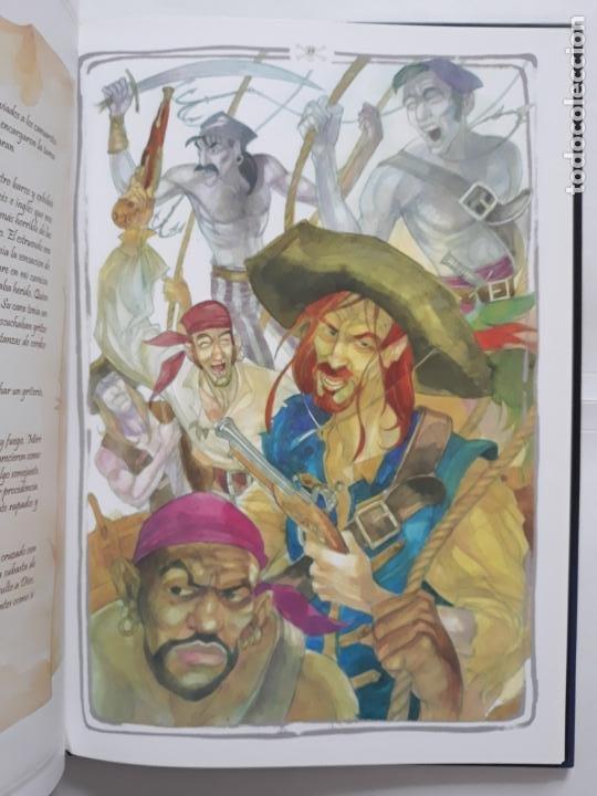 Libros: JOVENES PIRATAS. DIARIO DE UN POLIZÓN. TEXTO E ILUSTRACIONES DE JOSÉ AGUILAR - Foto 4 - 207935061