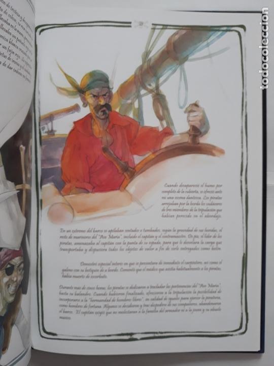 Libros: JOVENES PIRATAS. DIARIO DE UN POLIZÓN. TEXTO E ILUSTRACIONES DE JOSÉ AGUILAR - Foto 5 - 207935061