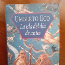 Libros: LA ISLA DEL DIA DE ANTES AVENTURAS AMORLIBERTINO FABULA REVOLUCIONBARROCO FILOSOFOS UTOPIAS. Lote 208286082