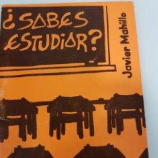 Libros: ¿SABES ESTUDIAR?. Lote 208388915