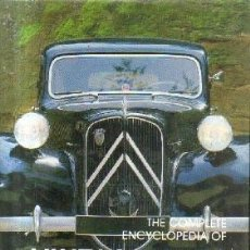 Libros: THE COMPLETE ENCYCLOPEDIA OF VINTAGE CARS.1886-1940. DE LA RIVE BOX, ROB.A-MOT-336. Lote 208410105