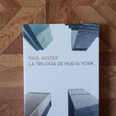 Livros: PAUL AUSTER - LA TRILOGÍA DE NUEVA YORK. Lote 208443181