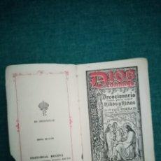 Libros: LIBRO 1947. ANTIGUO DEVOCIONARIO PARA NIÑOS Y NIÑAS. DIOS CONMIGO. P. LUIS RIBERA. EDITORIAL REGINA.. Lote 208756161