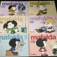 Libros: MAFALDA 6 TOMOS. QUINO. PÚBLICO.. Lote 208873468