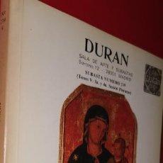 Libros: CATALOGO DURAN 1989 SUBASTA Nº 239. Lote 208879501