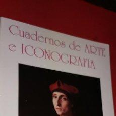 Libros: CUADERNOS DE ARTE E ICONOGRAFÍA.ARTE TOLEDANO LINAJE DE ESTEBAN ILLAN ETC BALBINA MARTINEZ CAVIRÓ. Lote 209059840