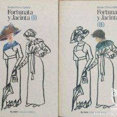 Libros: FORTUNATA Y JACINTA - 2 VOLS. - BENITO PÉREZ GALDÓS. Lote 208550355