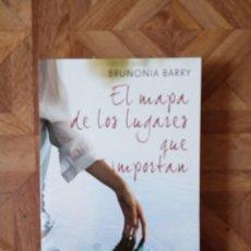 Libros: BRUNONIA BARRY - EL MAPA DE LOS LUGARES QUE IMPORTAN. Lote 209199485