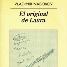 Libros: EL ORIGINAL DE LAURA. (MORIR ES DIVERTIDO).. - VLADIMIR NABOKOV... Lote 209665720