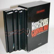 Libros: CARVALHO 25 AÑOS. EL ANIVERSARIO DE UN GRAN DETECTIVE - VÁZQUEZ MONTALBÁN, MANUEL. Lote 209667837